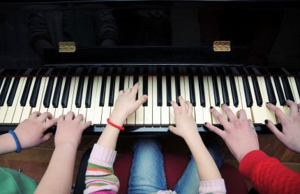 Piano six hands