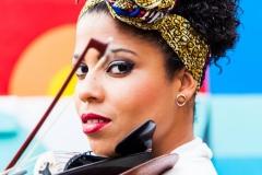 Elizabeth Rodriguez - violin and piano